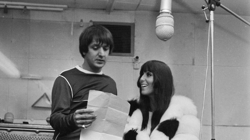 Sonny und Cher im August 1966
