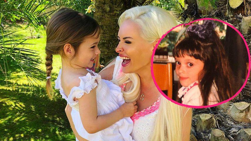 Danielas Throwback-Pic: Tochter Sophia kommt ganz nach ihr
