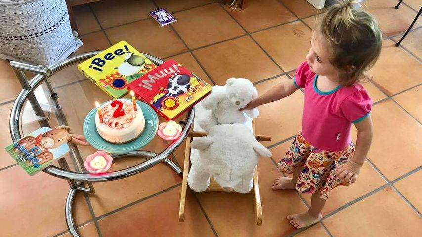 Sophia Cordalis an ihrem zweiten Geburtstag