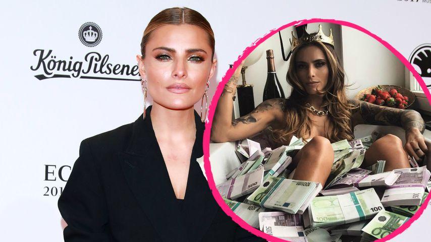 Sophia Thomallas Protz-Pic: Das ist der Grund fürs Geld-Bad!
