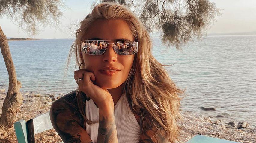 Sophia Thomalla in Griechenland, Oktober 2020