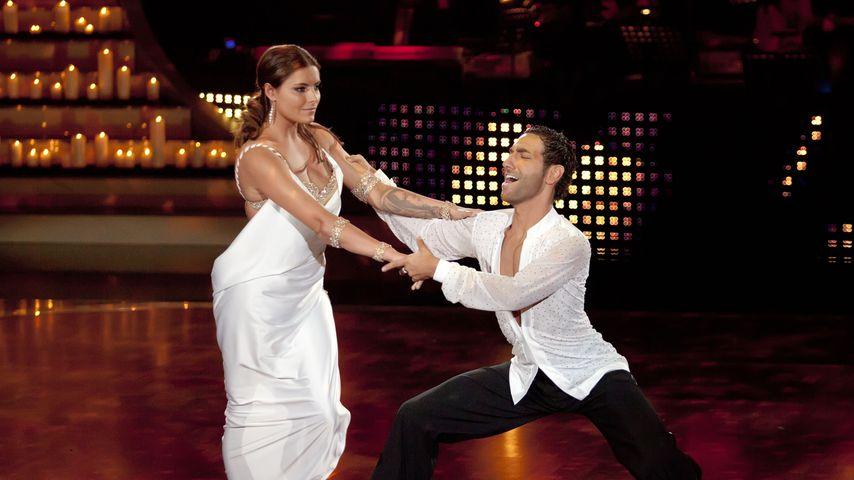 Sophia Tomalla und Massimo Sinato bei Let's Dance