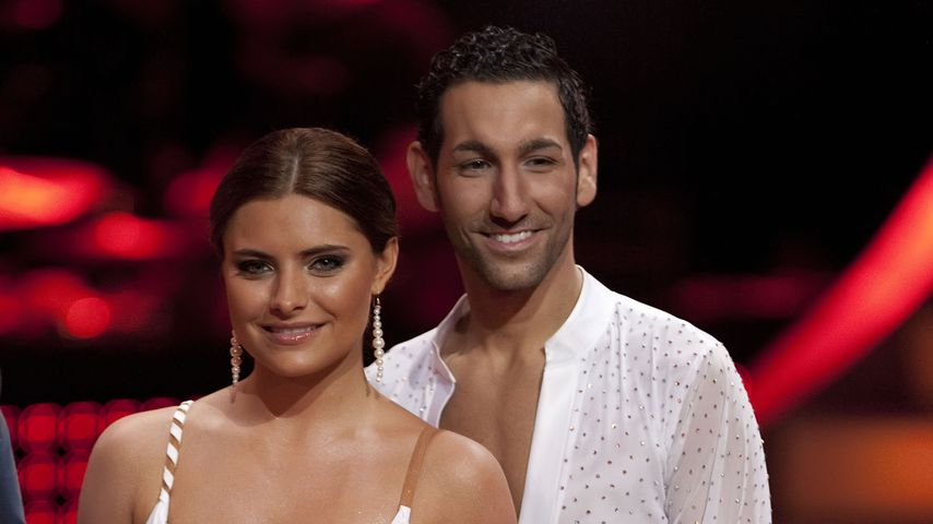 "Sophia Thomalla und Massimo Sinató bei ""Let's Dance"" 2010"