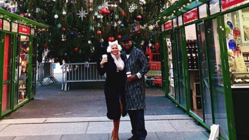 Schwangere Sophia Vegas genießt Xmas-Stimmung in New York