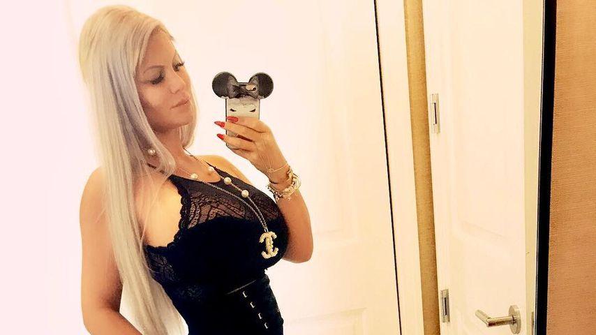 Sophia Vegas braucht im 6. Monat noch keine Umstandsmode