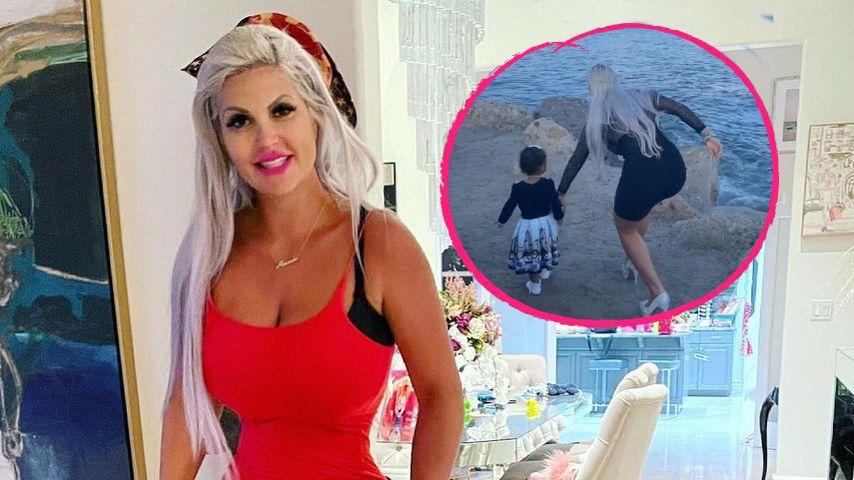 """Gefährlich"": Sophia Vegas muss Tochter Amanda einfangen"