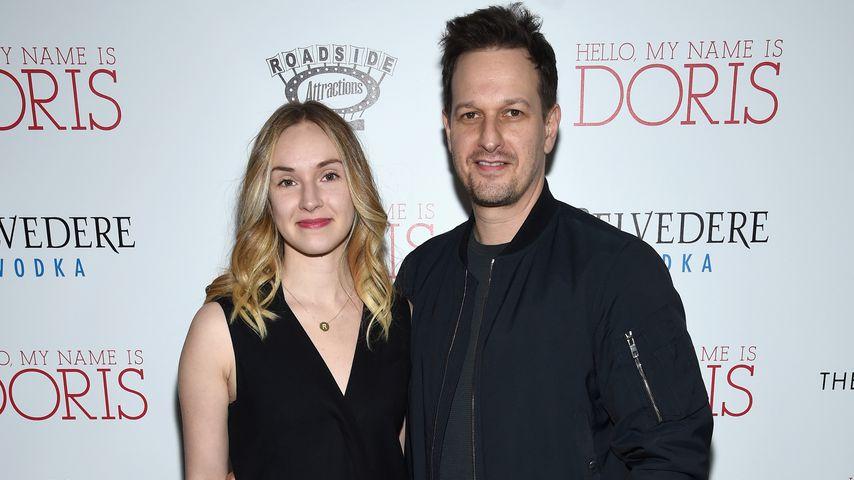 Sophie Flack und Josh Charles auf einer Premiere in New York 2016