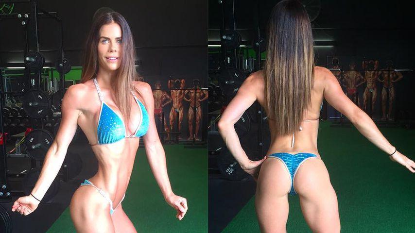 Nach 3 Schwangerschaften: Fitness-Model zeigt Muskel-Body
