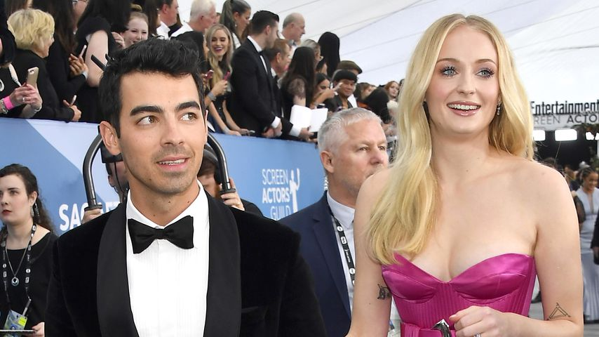 Joe Jonas und Sophie Turner bei den Screen Actors Guild Awards, 2020