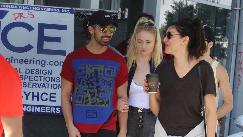 Sänger Joe Jonas und Schauspielerin Sophie Turner