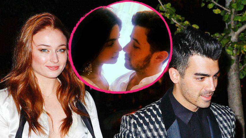 Nick Jonas' Verlobung: So gratulieren Bruder Joe und Sophie!