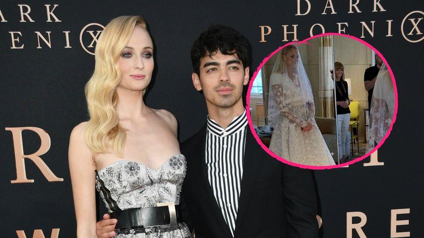 Erste Fotos: So bombastisch war Sophies Hochzeitskleid!