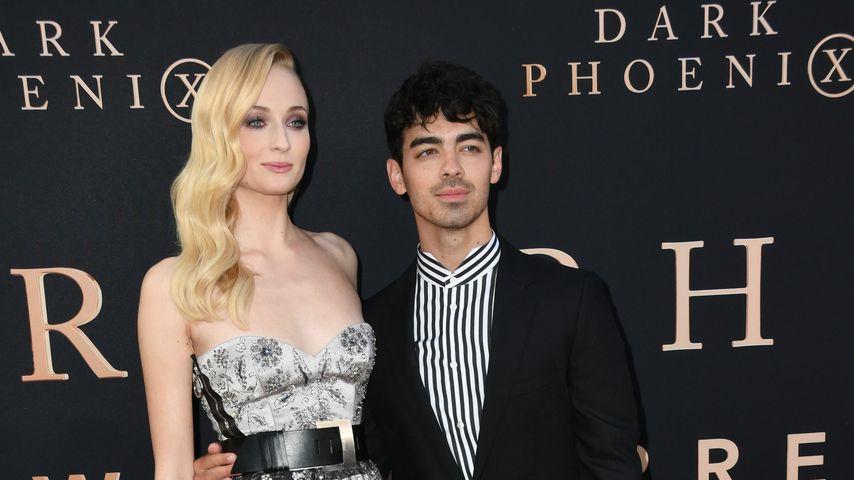 """Sophie Turner und Joe Jonas bei der """"Dark Phoenix""""-Premiere, Juni 2019"""