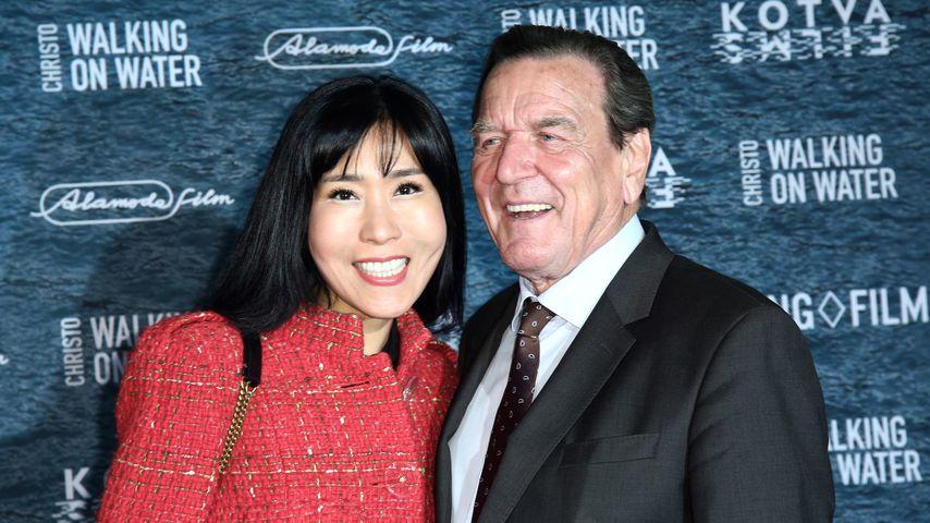 Soyeon und Gerhard Schröder, März 2019