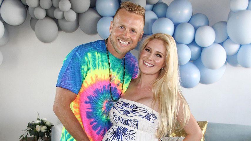 Spencer Pratt und Heidi Montag auf ihrer Babyparty