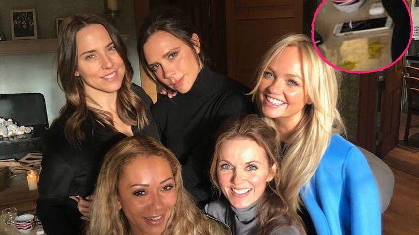 Koks auf Reunion-Pic? Spice Girls schocken mit weißer Linie