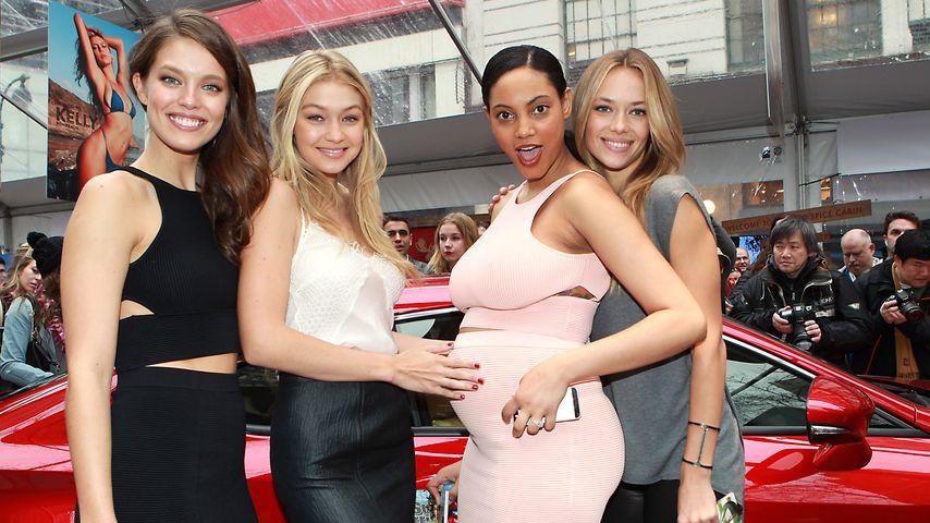 Wow! Model Ariel Meredith ist so schön schwanger