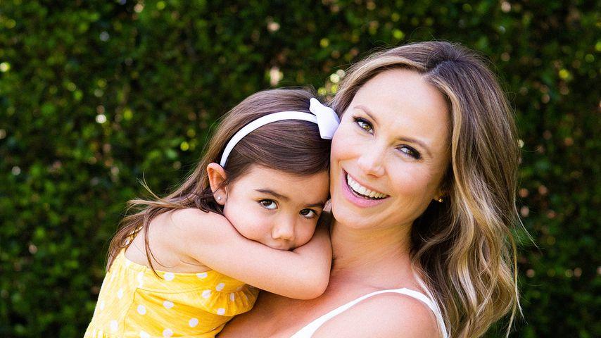 Stacy Keibler mit ihrer Tochter