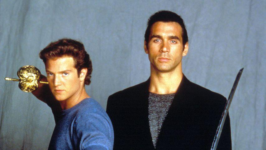 """Stan Kirsch und Adrian Paul in """"Highlander"""""""