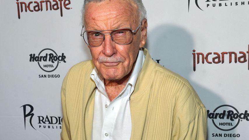 Mit 95 Jahren: Stan Lee kämpft gegen Lungen-Entzündung!