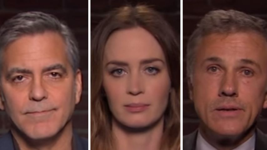 Video: George Clooney liest fiese Tweets über sich selbst