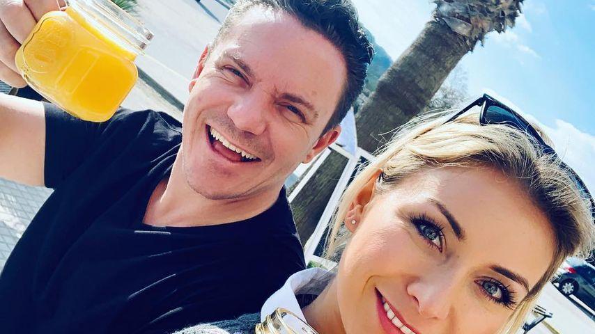 Stefan Mross und Anna-Carina Woitschack im Februar 2019