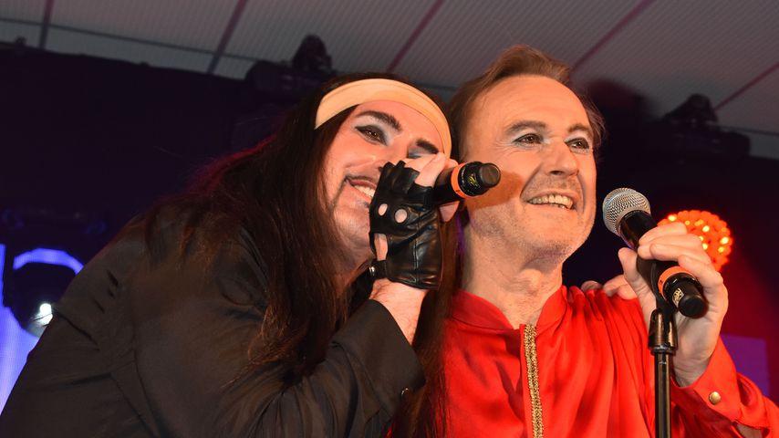 Stefan Track und Wolfgang Heichel von der Band Dschinghis Khan