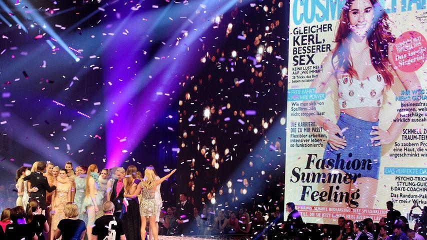 Stefanie Giesinger gewinnt GNTM 2014 und wird Cosmopolitan-Star