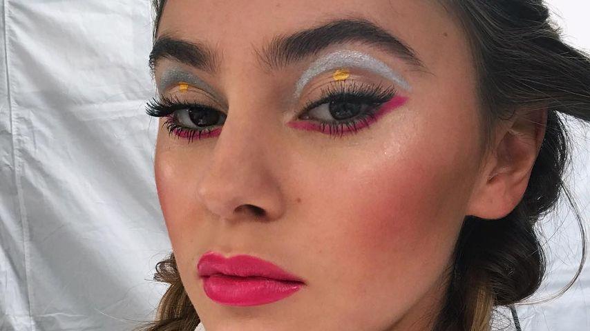 "Stefanie Giesinger beim ""L'Oréal""-Shooting in Paris"
