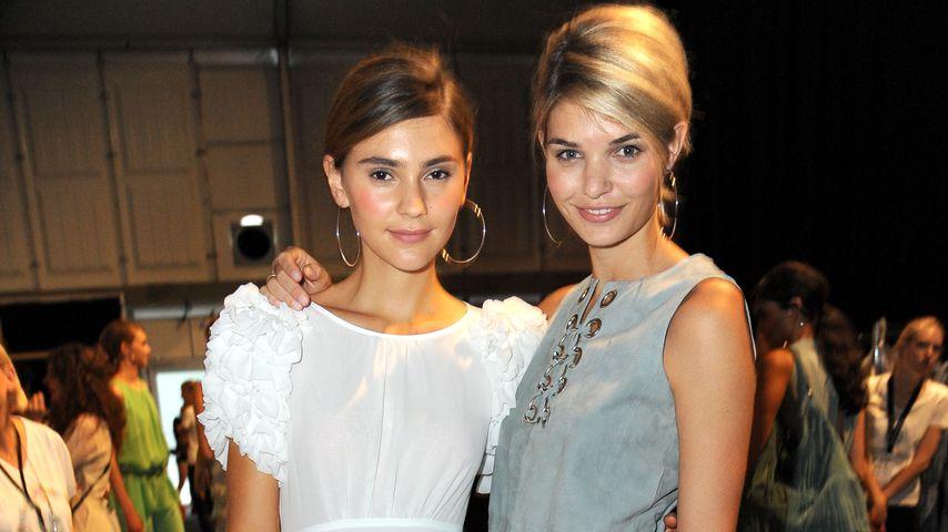 Stefanie Giesinger und Luisa Hartema bei der Mercedes-Benz Fashion Week Berlin Spring/Summer 2016