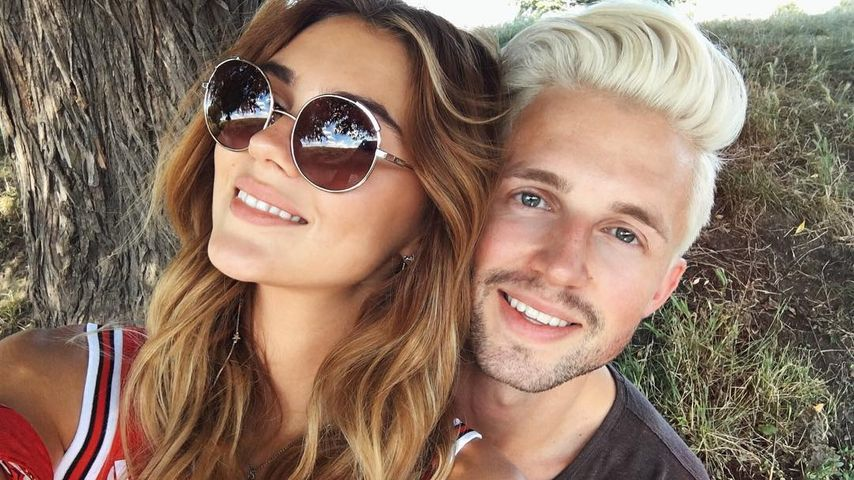 Stefanie Giesinger mit Freund Marcus Butler in London