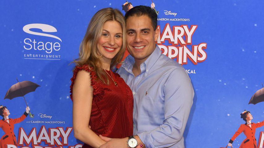 Stefanie Schanzleh und Silva Gonzalez bei ihrem ersten Paarauftritt nach der Geburt