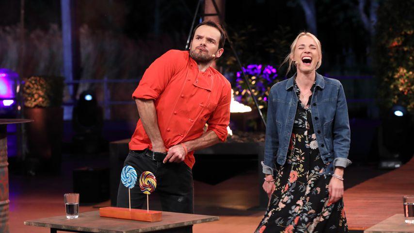 """Steffen Henssler und Annie Hoffmann bei """"Grill den Henssler"""""""