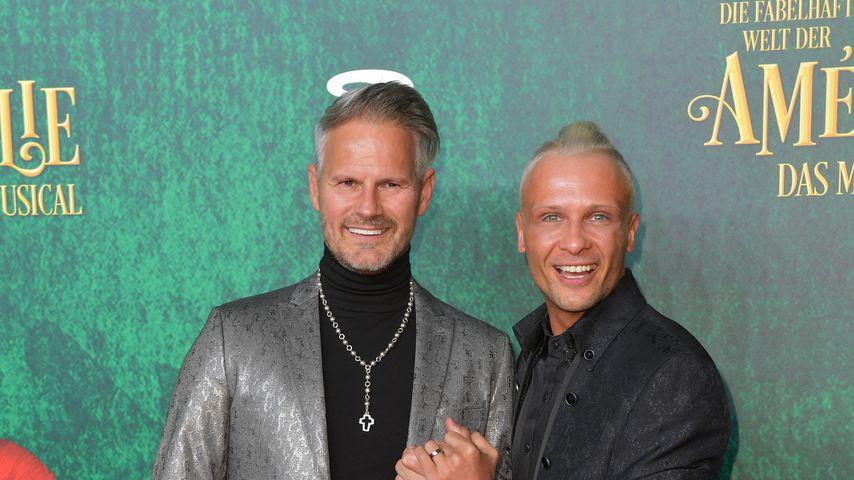 Steffen Kurz und Emil Kusmirek im Februar 2019