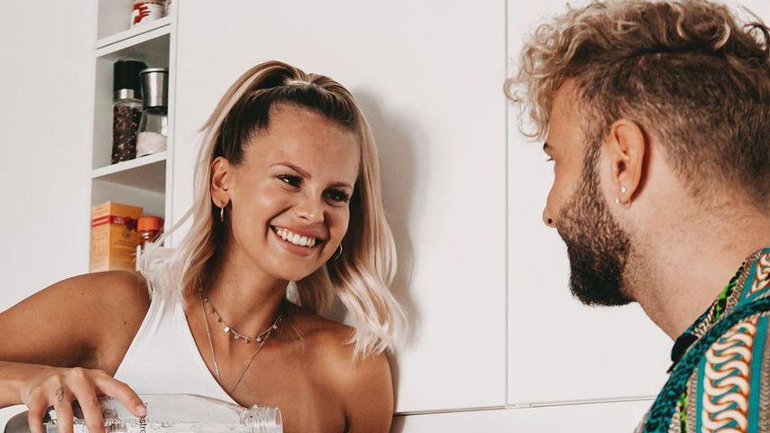 Stephanie Schmitz und Julian Evangelos im Mai 2019