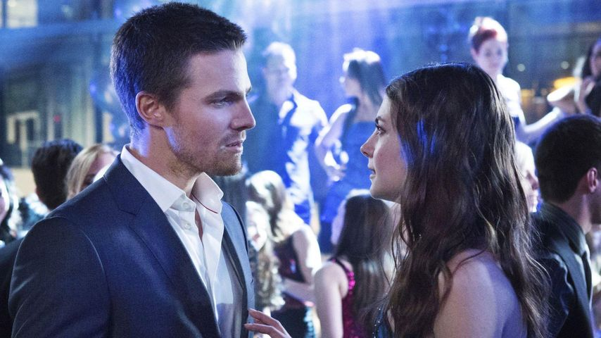Stephen Amell und Willa Holland
