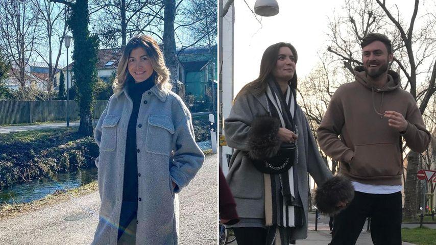Collage: Stephie Stark und Michèle de Roos mit Niko Griesert