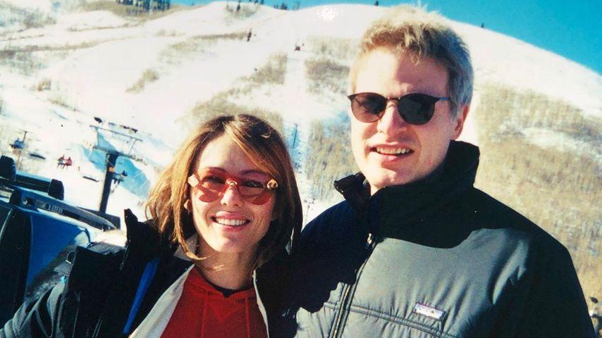 Schauspielerin Liz Hurley und Filmproduzent Steve Bing