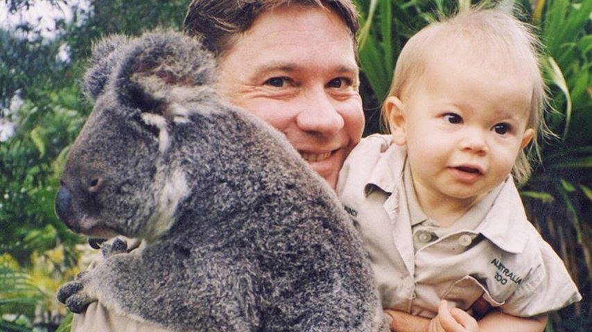 Steve Irwin mit seiner Tochter Bindi
