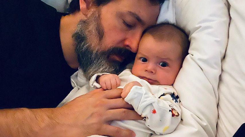 Steve Kazee und Sohn Callum