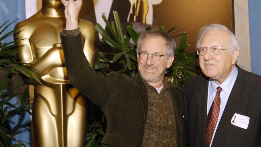 Steven und Arnold Spielberg 2006