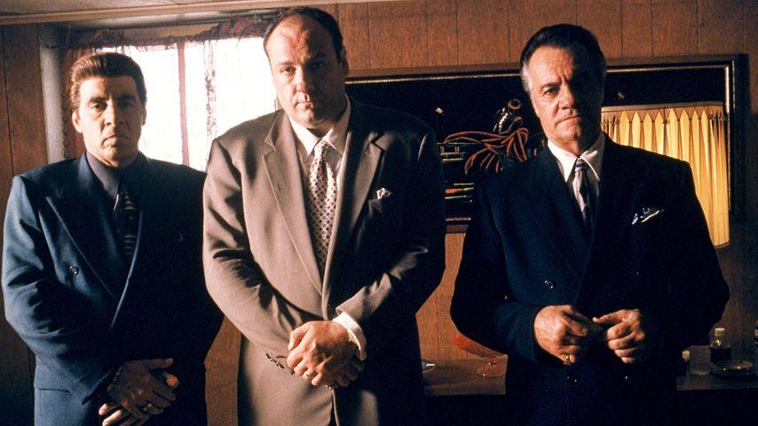 "Steven Van Zandt, James Gandolfini und Tony Sirico in ""Die Sopranos"""