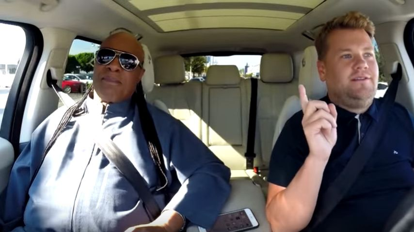 James Cordon: Outtakes von seinem Roadtrip mit Stevie Wonder