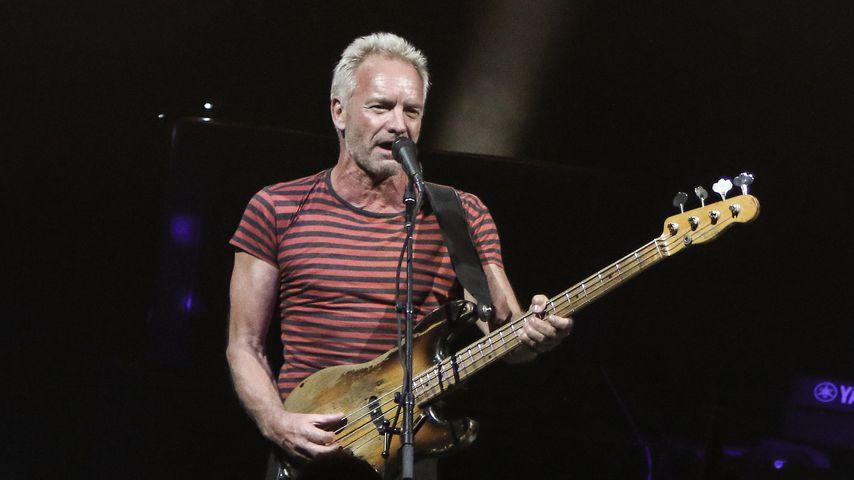 Sting bei einem Konzert in Miami im September 2018