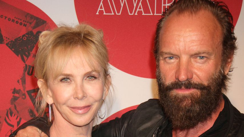 Sting und Trudie Styler