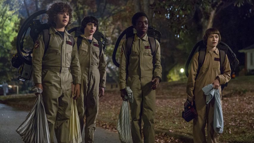 """""""Stranger Things""""-Jungs als Ghostbusters"""