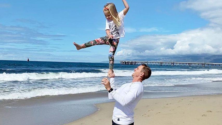 Stuart Holden und seine Tochter