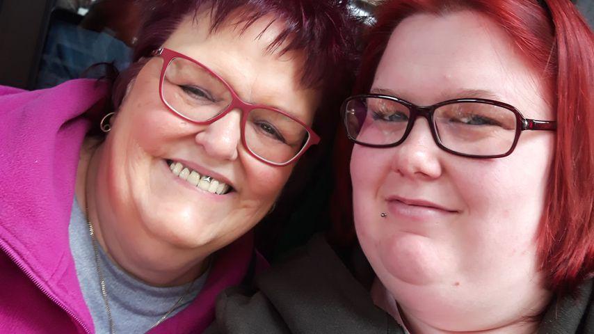 Ingos Mama Stups und seine Freundin Annika im Mai 2019