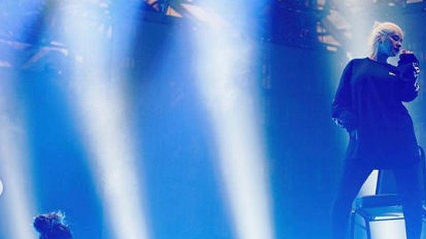 Summer und Christina Aguilera bei den Proben für ihre Liberation Tour