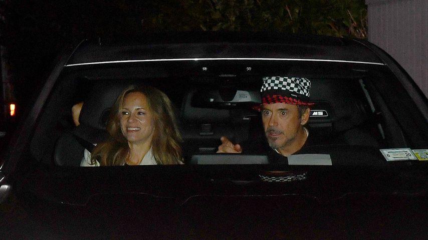 Susan Downey und Robert Downey Jr. verlassen Gwyneth Paltrows Hochzeit